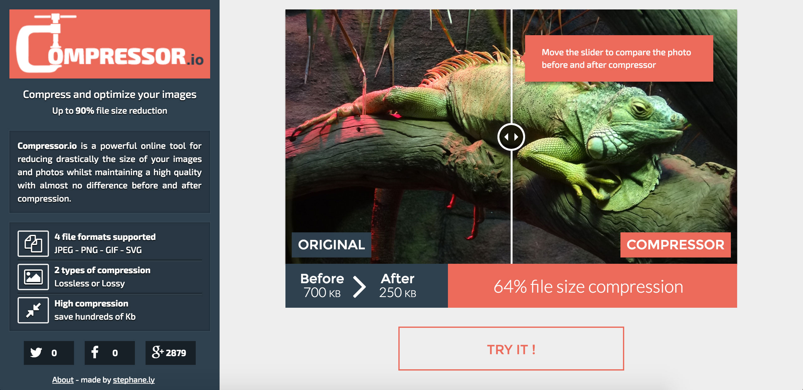 Optimize Images For Social Media With Compressor