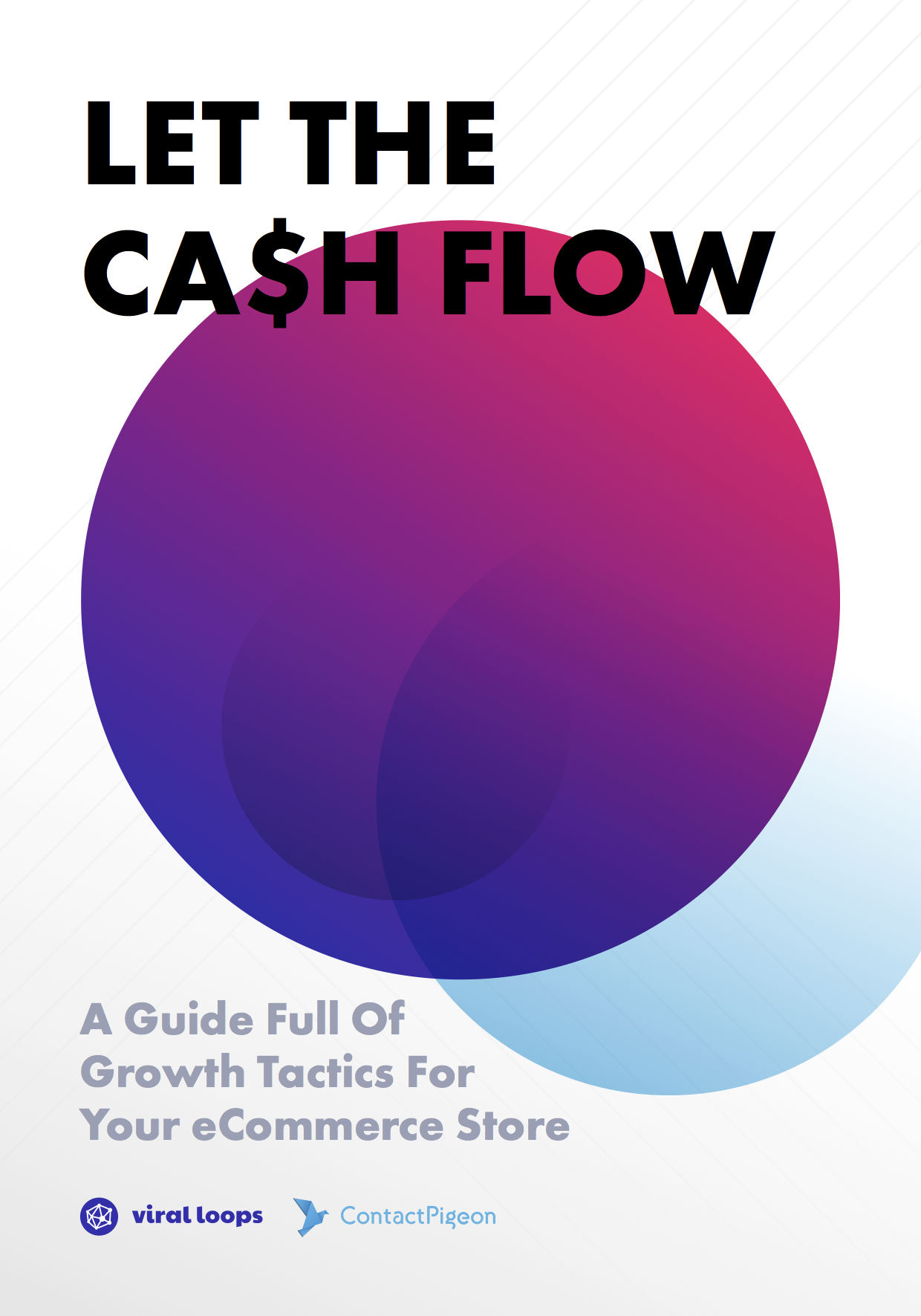 let the ca$h flow ecommerce growth tactics ebook cover